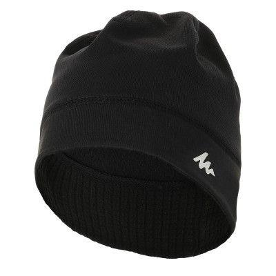 RANDONNEE Ski nordique Raquettes - Bonnet sport noir QUECHUA - BLACK