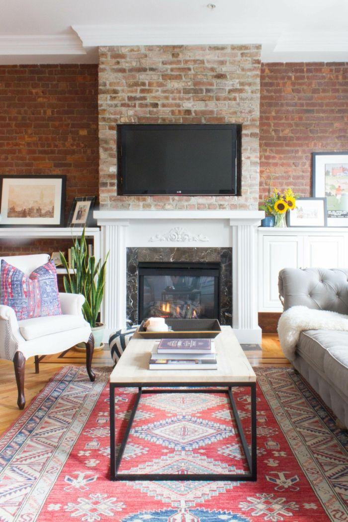 ▷ 1001 + Ideen Für Wohnwand Selber Bauen Mit Anleitungen |  Einrichtungsideen | Pinterest | Wohnwand Selber Bauen, Fernsehwand Und  Perserteppich