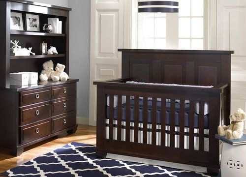 Nursery: Navy and White