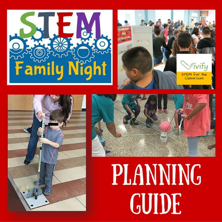 Stem School Grants: STEM Family Night Planning Guide