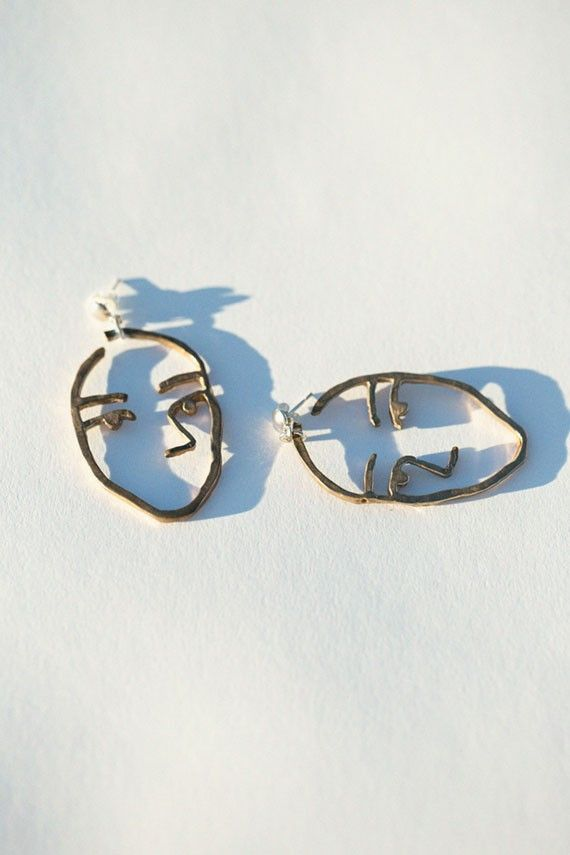 Need this in my life!   Open House - Bronze Sister Earrings | BONA DRAG