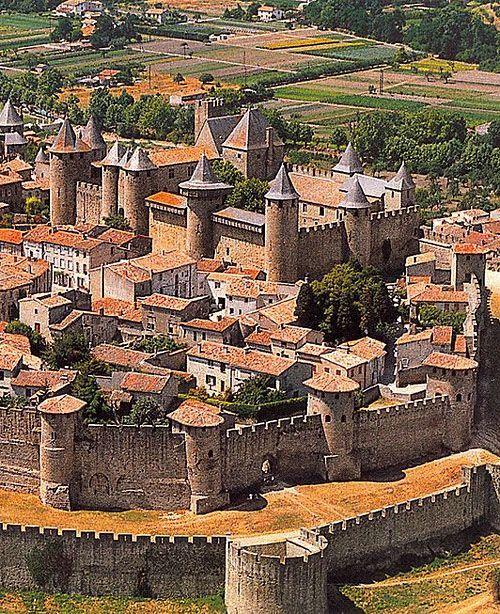 Château Comtal, Carcassonne, Languedoc, France
