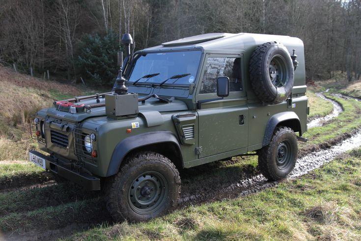 Land Rover Defender TUL XD WOLF FFR | by Wolverine 90