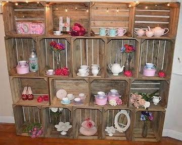 wooden crates uk