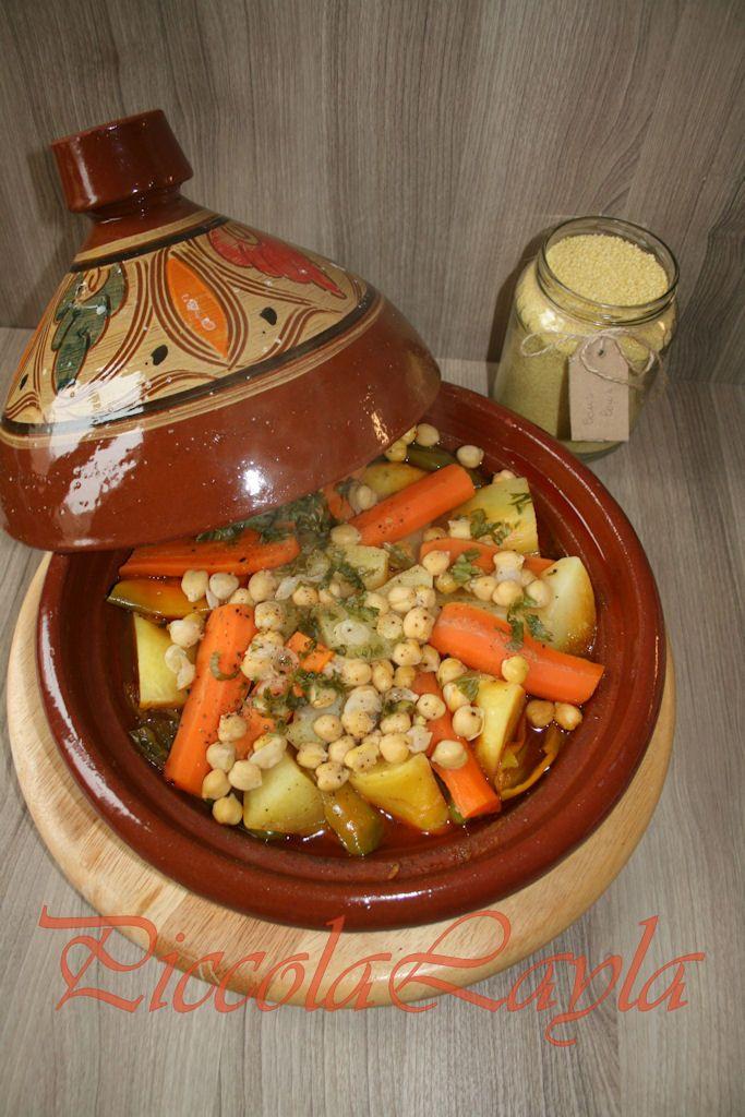 Spezie Marocchine Per Tajine.Tajine Di Verdure E Legumi Un Piatto Marocchino Ricette