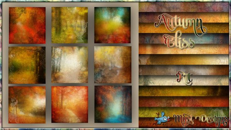 Autumn Bliss - Landscaped Papers
