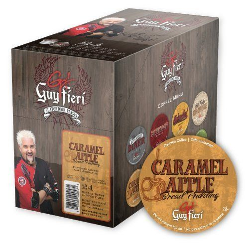 Guy Fieri Coffee for K-cup Brewers - Caramel Apple Bread Pudding - 48ct > Stop everything and read more details here! : K Cups