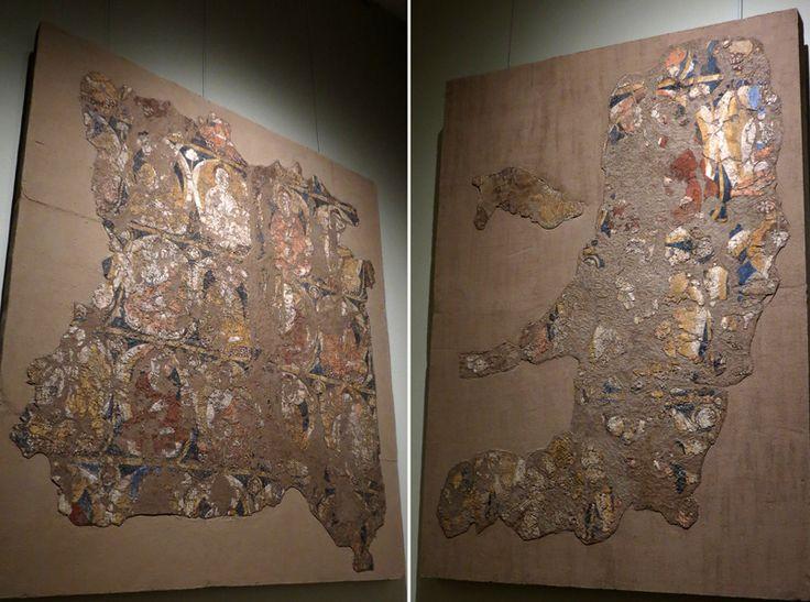 """Аджина-Тепе и древности Хатлона: valery_3 осписи потолков с сюжетом """"Тысячи Будд"""". Как я понимаю, здешний буддизм существовал ещё до обособления его различных ветвей, но искусство северного буддизма вышло из Тохаристана, как православное искусство из Византии, и их не мной одним подмеченное внешнее сходство не случайно - и там, и там был греческий корень."""