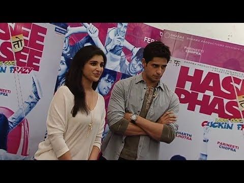 Parineeti Chopra and Sidharth Malhotra | HASEE TOH PHASEE star cast interview.
