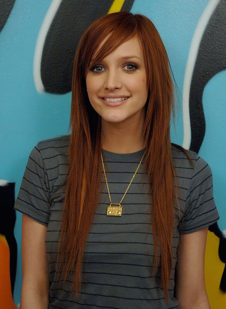 Ashlee Simpson. I love this cut and color