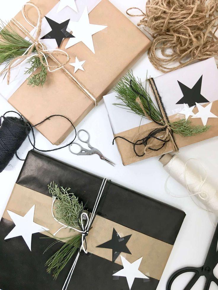 diy dekoration so kannst du geschenke f r weihnachten besonders sch n verpacken t i s t h. Black Bedroom Furniture Sets. Home Design Ideas