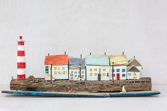 Oltre 25 fantastiche idee su legno in spiaggia su for Piccola casa su piani di fondazione