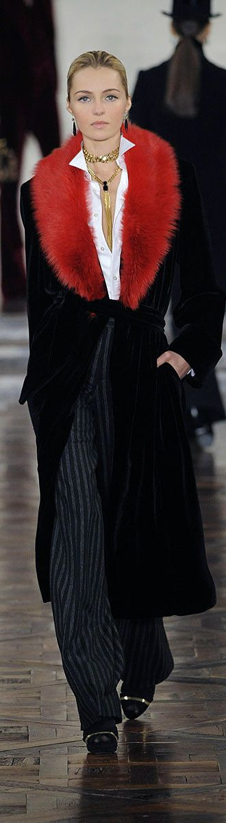 ✪ Ralph Lauren - Ready-to-Wear - Fall-Winter 2012-2013 ✪ http://en.flip-zone.com/fashion/ready-to-wear/fashion-houses-42/ralph-lauren