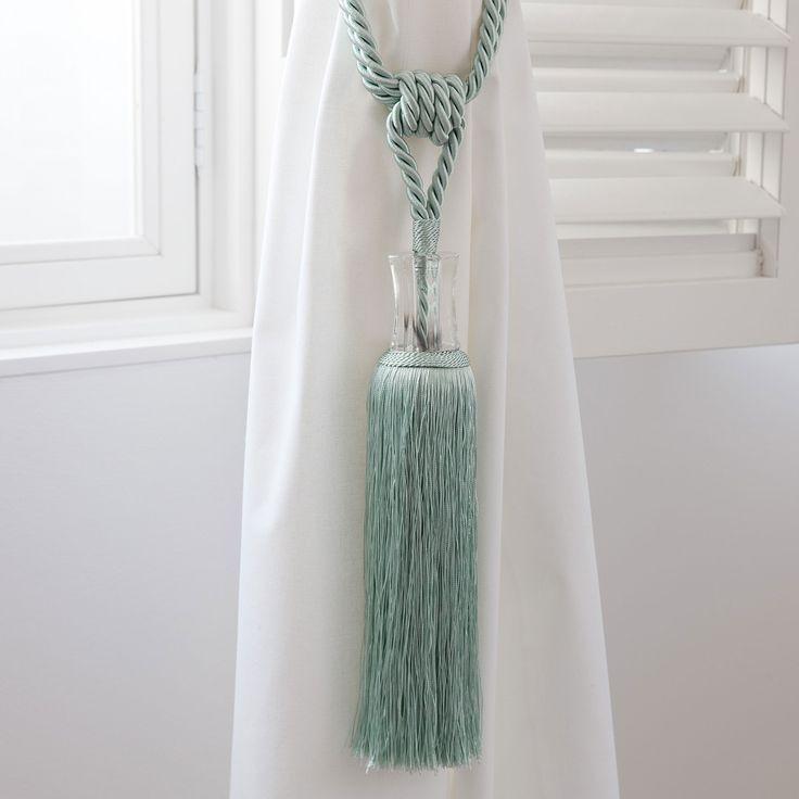 25 best ideas about rideaux bleu clair sur pinterest - Embrasse rideau maison du monde ...