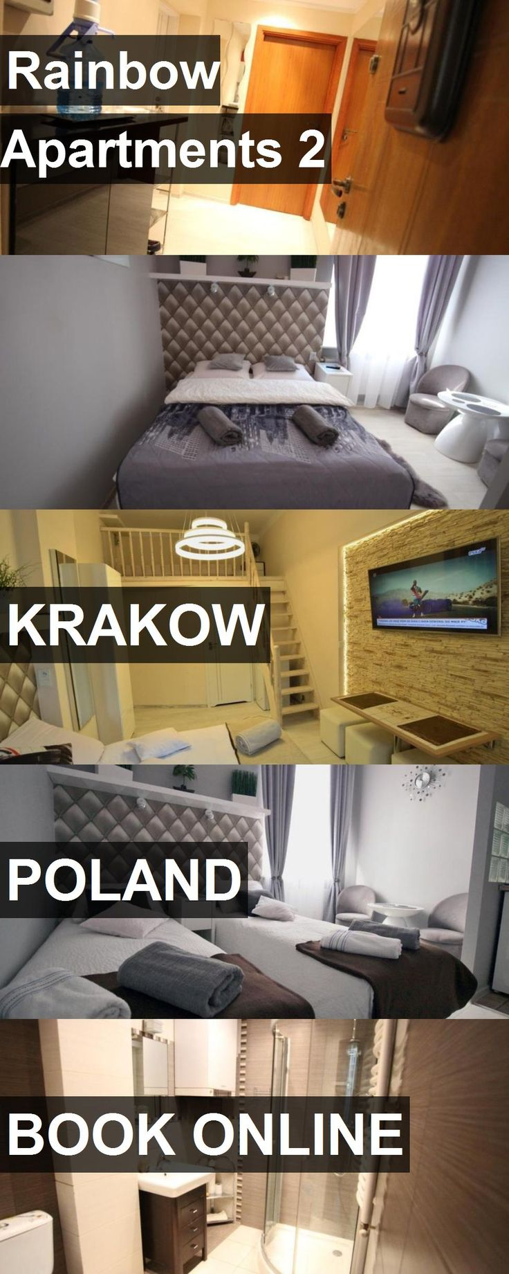 Hotel Rainbow Apartments 2 in Krakow, Poland. For more information, photos, reviews and best prices please follow the link. #Poland #Krakow #RainbowApartments2 #hotel #travel #vacation