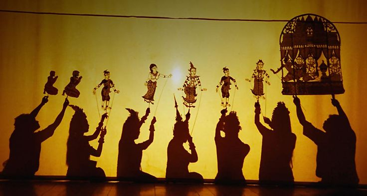 Nang sbek (shadow theatre) (or Lkhaon Nang Sbek; Khmer: ល្ខោនណាំងស្បែក) is closely related to the Nang Yai of Thailand, Wayang of Malaysia and Indonesia like the Islands of Java and Bali, thus implying that nang sbek may have came from an Indonesian or Malaysian origin from many centuries ago.
