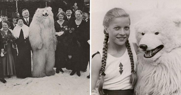 En la antigua Alemania de los años 1920 a 1970, surgió una extraña moda en que la gente llegó a tomarse fotos con personas vestidas de osos polares, lo cual no hay más que decir que realmente resulta ser una de las modas más extrañas e inexplicables de esos lejanos ayeres. Muchas teorías han surgido alrededor de esta moda.