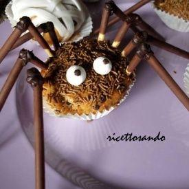 Muffin di ragno. Condivisa da: http://ricettosando.blogspot.it/