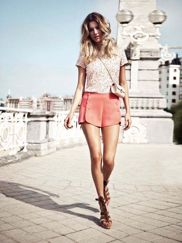 .: Summer Collection, Fashion Style, Ombre Hair, Spring Summer, Summer Outfits, Style Summer, Summer Shorts, Style Clothing, Style Fashion