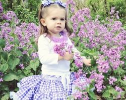Purple Country Gingham Pettiskirt - one in purple and one in pink!