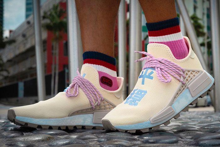 b4aa920a0 ... originals zx flux xeno irridescent 3m boost b24441 zapatos b8587 3b317   france up close with the latest pharrell x adidas hu nmd n.e.r.d 68a05 79a2a