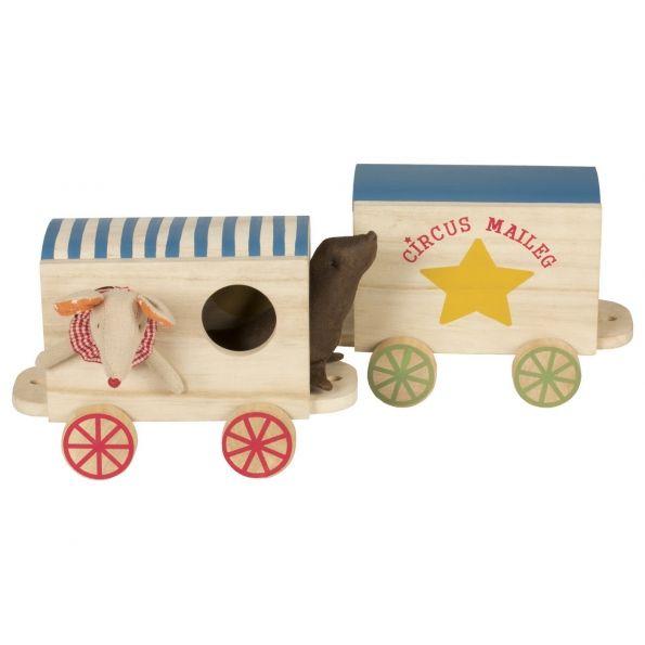 """Vagon circ pentru șoricei """"Circus Maileg"""""""