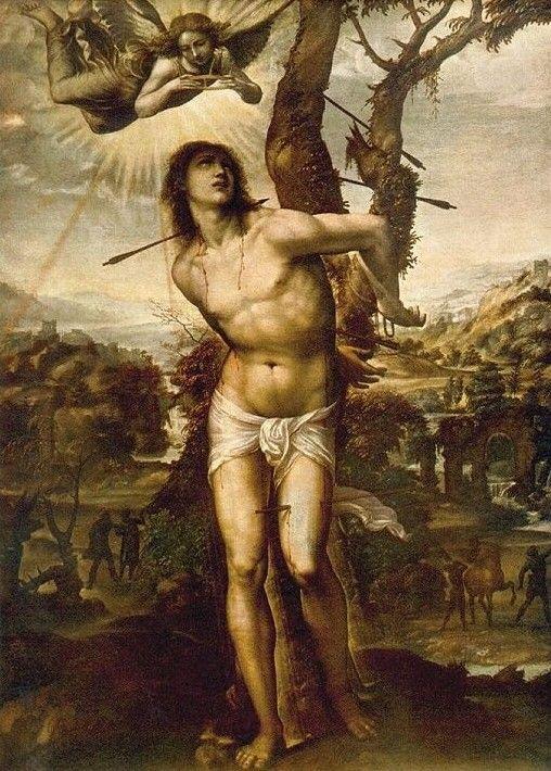 Il Sodoma, San Sebastiano, 1525