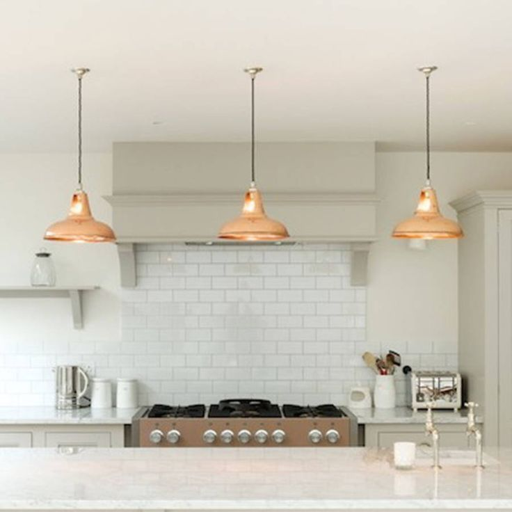 Copper Vintage Industrial Pendant Lamp