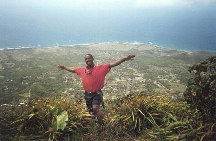 Nevis Peak, Nevis, West Indies