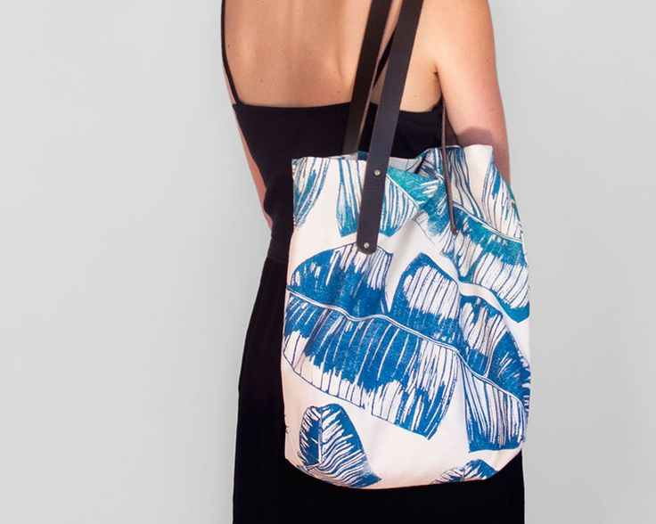 Workshop Bag - make your own printed fabric with Lichen & Leaf