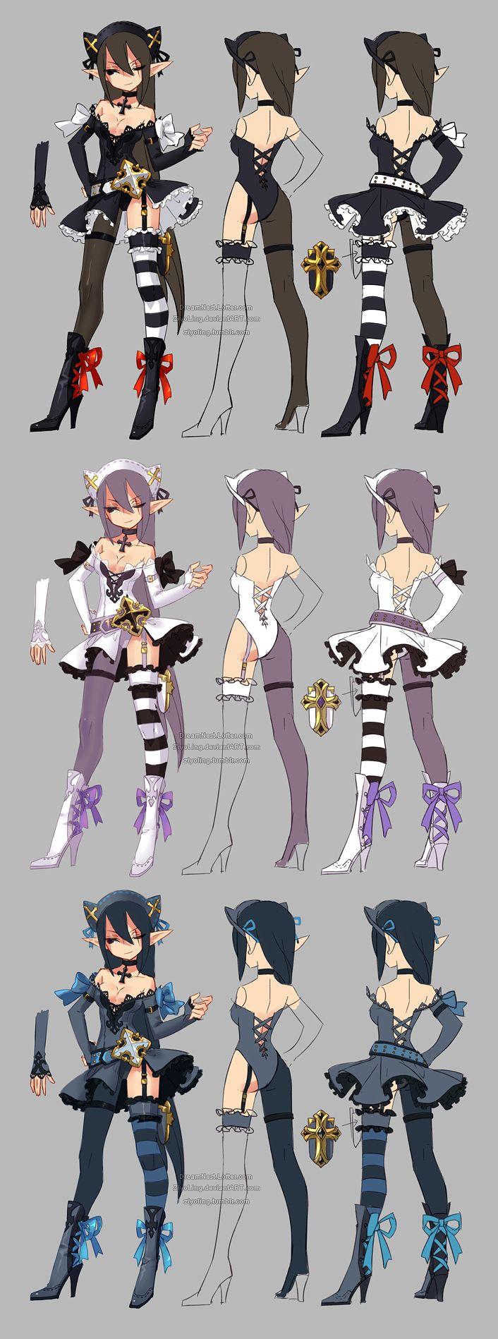http://ziyoling.deviantart.com/art/Dragon-nest-priest-archer-577961438