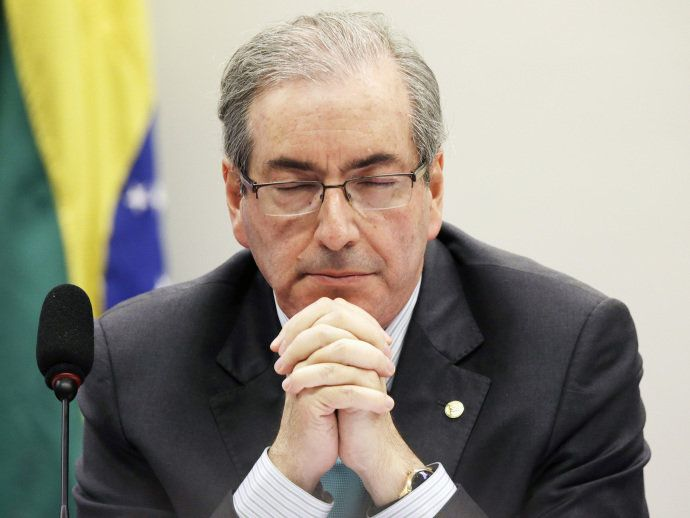 The speaker of Brazil's lower house of Congress, Eduardo Cunha, is being accused of keeping millions of dollars in foreign bank accounts,
