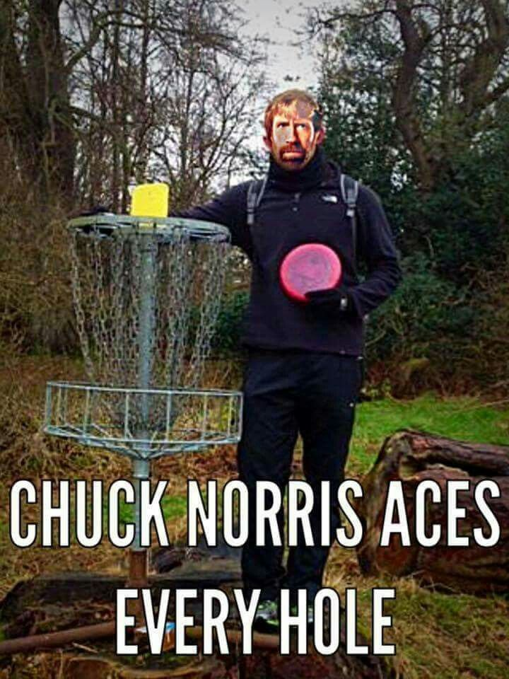 Disc Golf and Chuck Norris