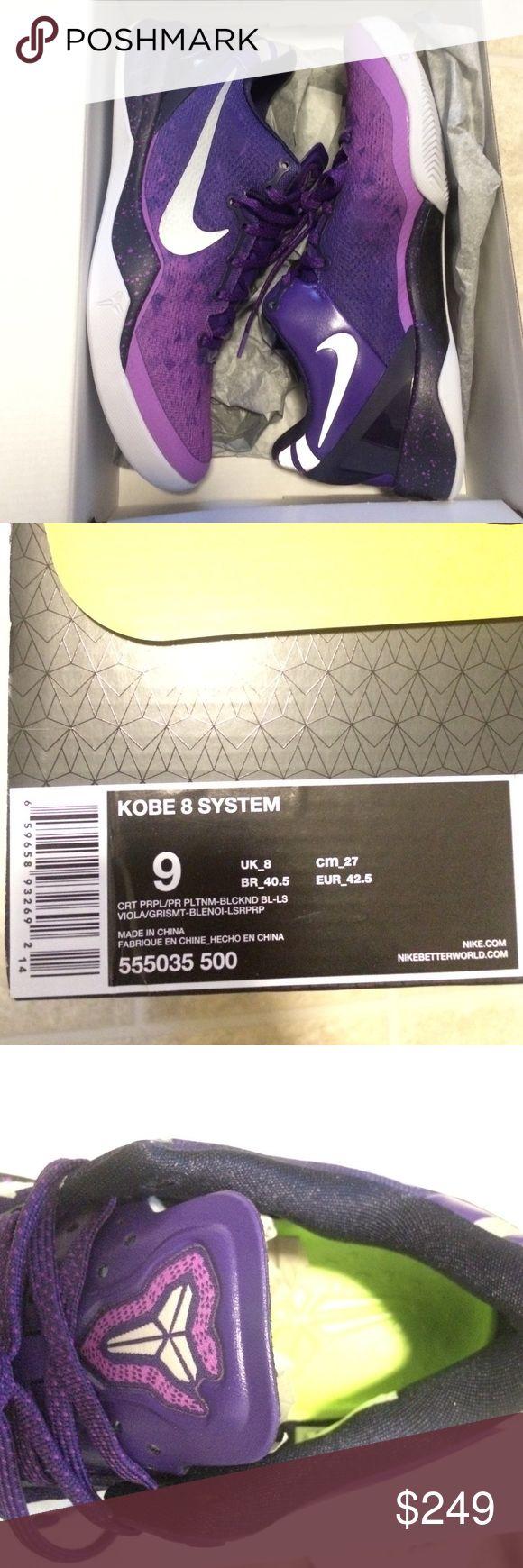 Cheap Sale Nike Zoom Black Mamba 24 Kobe Cheap sale White Purple