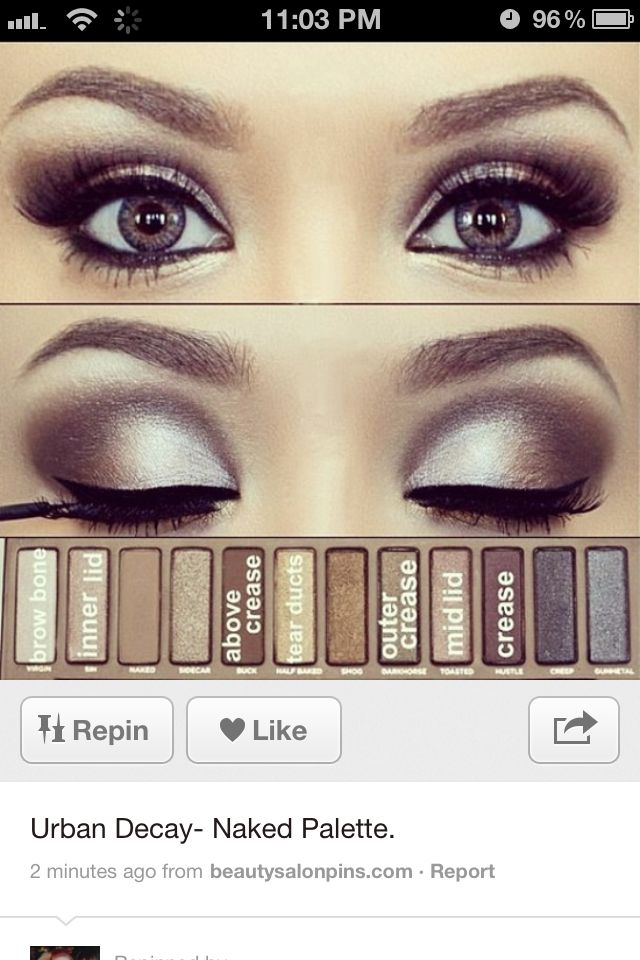 Makeup! Eye shadow idea Have you seen the new promotion Real Techniques brushes makeup -$10 http://youtu.be/eqlihtAACIY