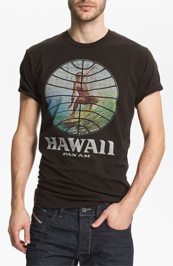 Want bad palmercash 39 pan am hawaii 39 graphic t shirt for Hawaiian graphic t shirts