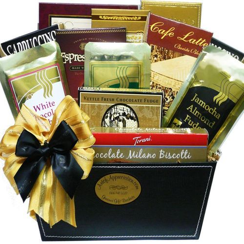 Art of Appreciation Coffee Caddy Gourmet Food Gift Basket - http://www.gifts-for-baby.net/art-of-appreciation-coffee-caddy-gourmet-food-gift-basket/