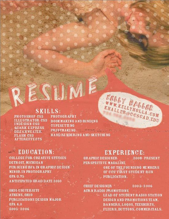 Best Studio Resume Images On   Resume Templates
