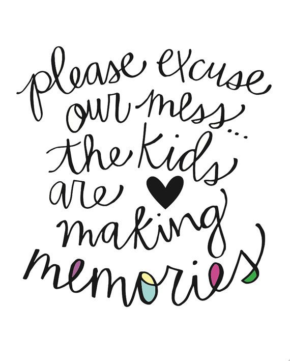 8x10 Digital file Please Excuse our mess. by CarlyGriffithDesigns