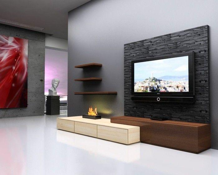 Die besten 25+ Grau akzent wände Ideen auf Pinterest Akzent - wohnzimmer petrol grau