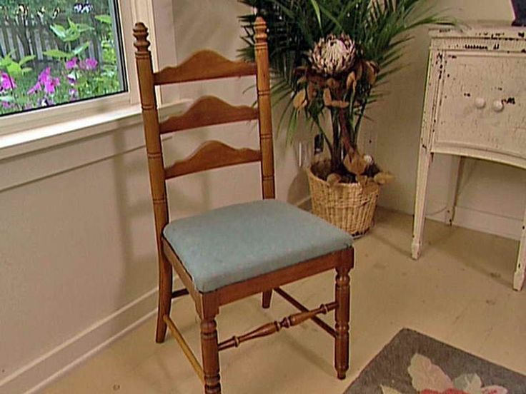 How to Reupholster a Dining Room Chair in a Convenient Manner: How To Reupholster DIY Dining Room Chair ~ gamesbadge.com Furniture Inspiration