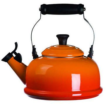 Le Creuset Classic Whistling Kettle  #LeCreuset #red #kitchendecor #teatime #affiliate
