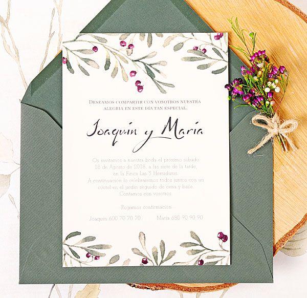 Descubre nuestras nuevas invitaciones de boda