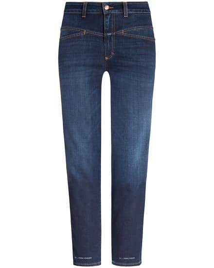Closed Closed- Pedal Pusher 7/8-Jeans Classic Fit High Waist | Damen (38;42)