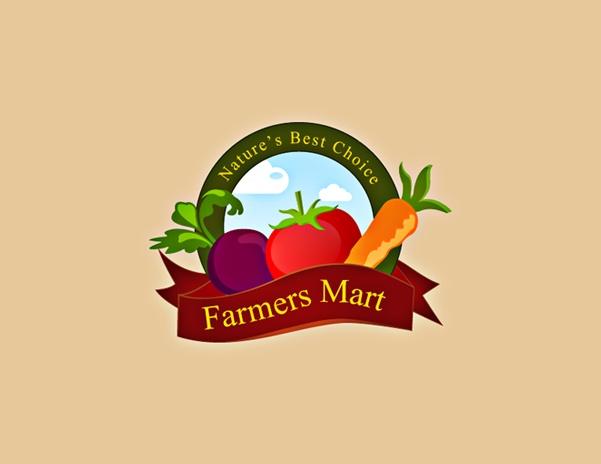 Farmers Mart Logo Design