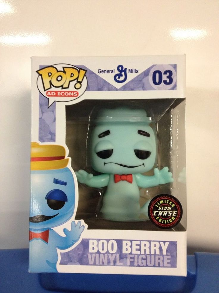 2011 Sdcc Boo Berry Funko Pop Vinyl Glow In The Dark 1 24