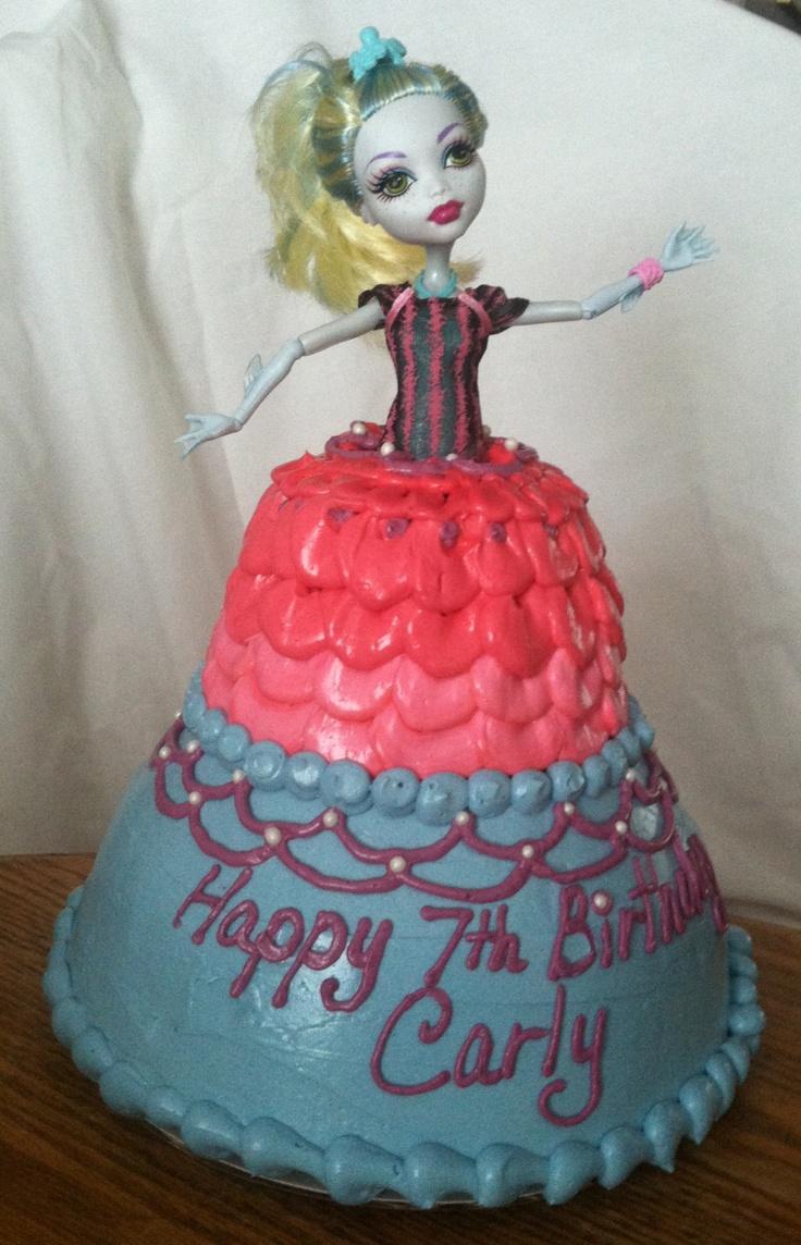 Google themes monster high - Monster High Cake