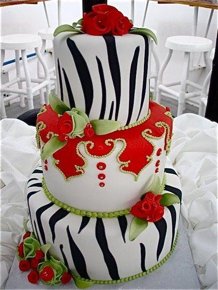 Cake Wrecks - Home - Sunday Sweets: Be MyValentine?Zebras Stripes, Valentine Cake, Cake Design, Cake Wreck, Cake Ideas, Cake Decor, Beautiful Cake, Zebras Cake, Wedding Cake