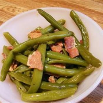 Down-South Style Green Beans: Style Green, Side Dishes, Crock Pots, Beans Allrecipescom, Food And Drinks, Down South Style, Green Beans, Beans Recipes, Allrecipes Com