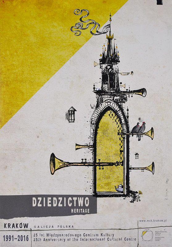 Ryszard Kaja, Dziedzictwo, Kraków, 2016, Size: B1